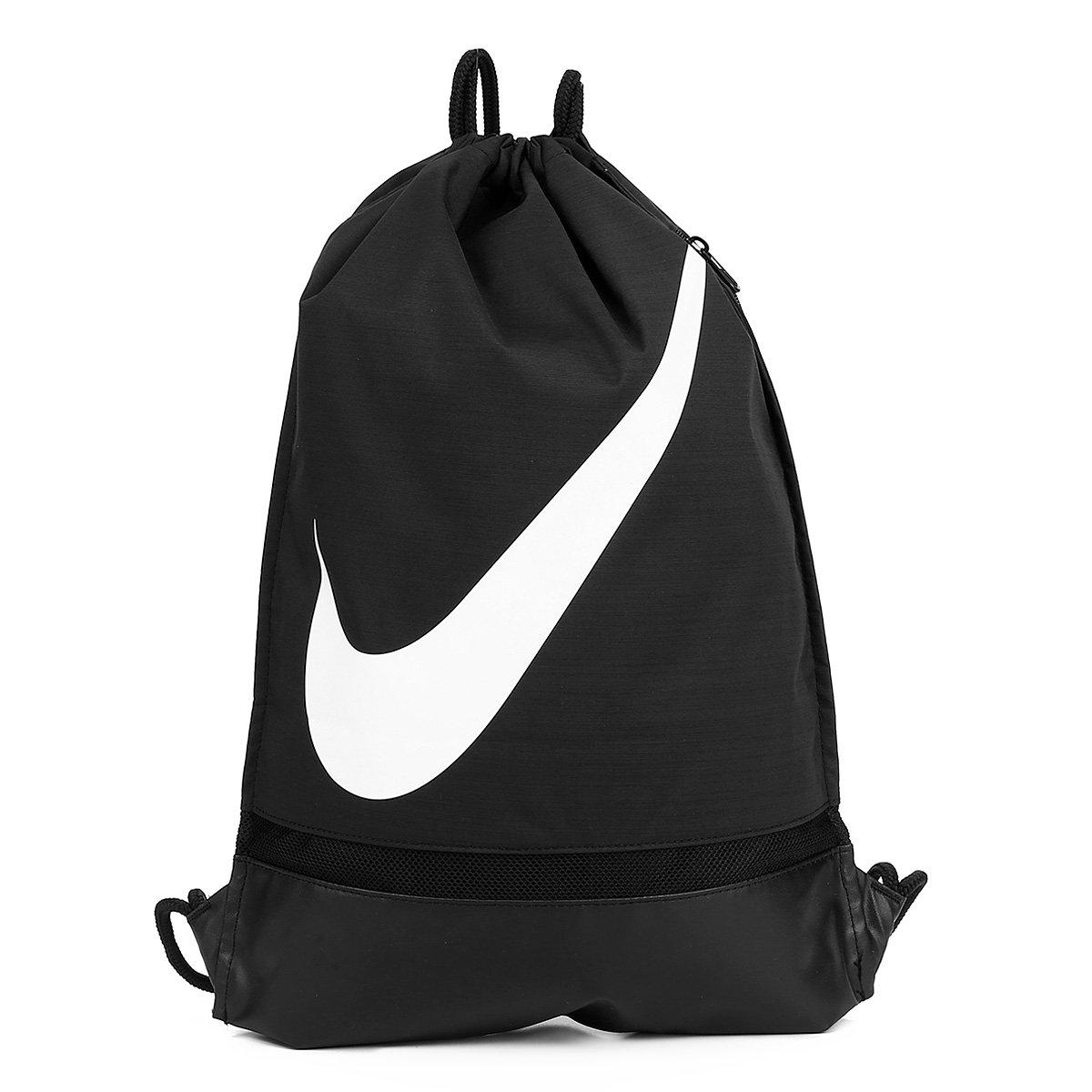 Academy Sack Preto Gym Nike Branco Sacola E 8NwXZPn0Ok