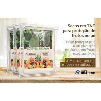 Sacos para Proteção de Frutas no Pé Aradesc 15x25 com 300 Peças