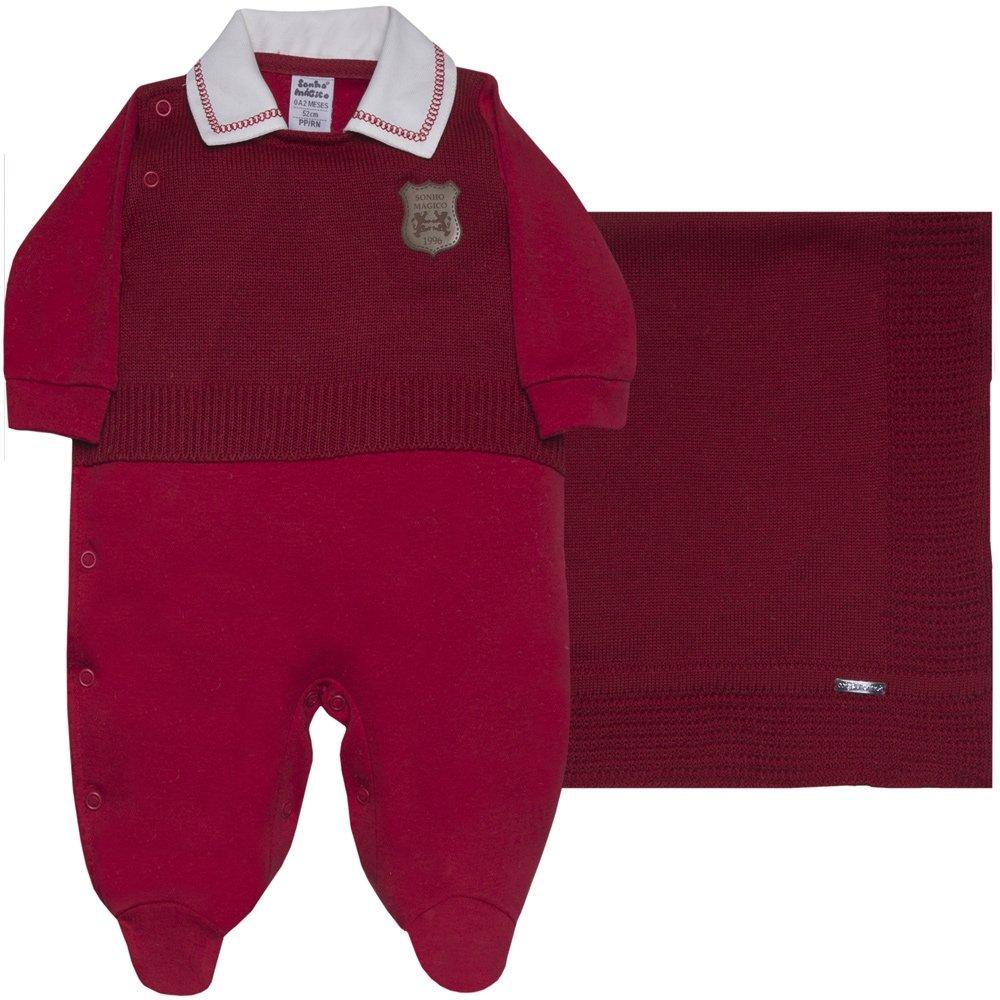 9e11001ef721a Saída Maternidade Neither 2Pçs Red 120337 - Sonho Mágico - Rn - Compre  Agora