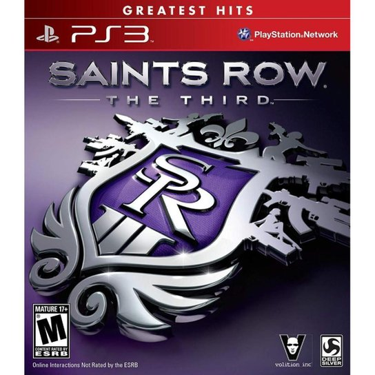 Saints Row The Third - Ps3 - Incolor