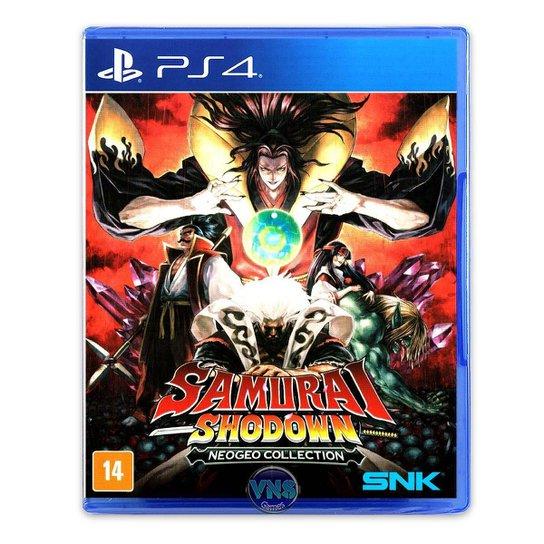 Samurai Shodown NEOGEO Collection - PS4 - Incolor