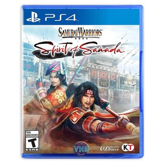 Samurai Warriors Spirit Of Sanada - Ps4