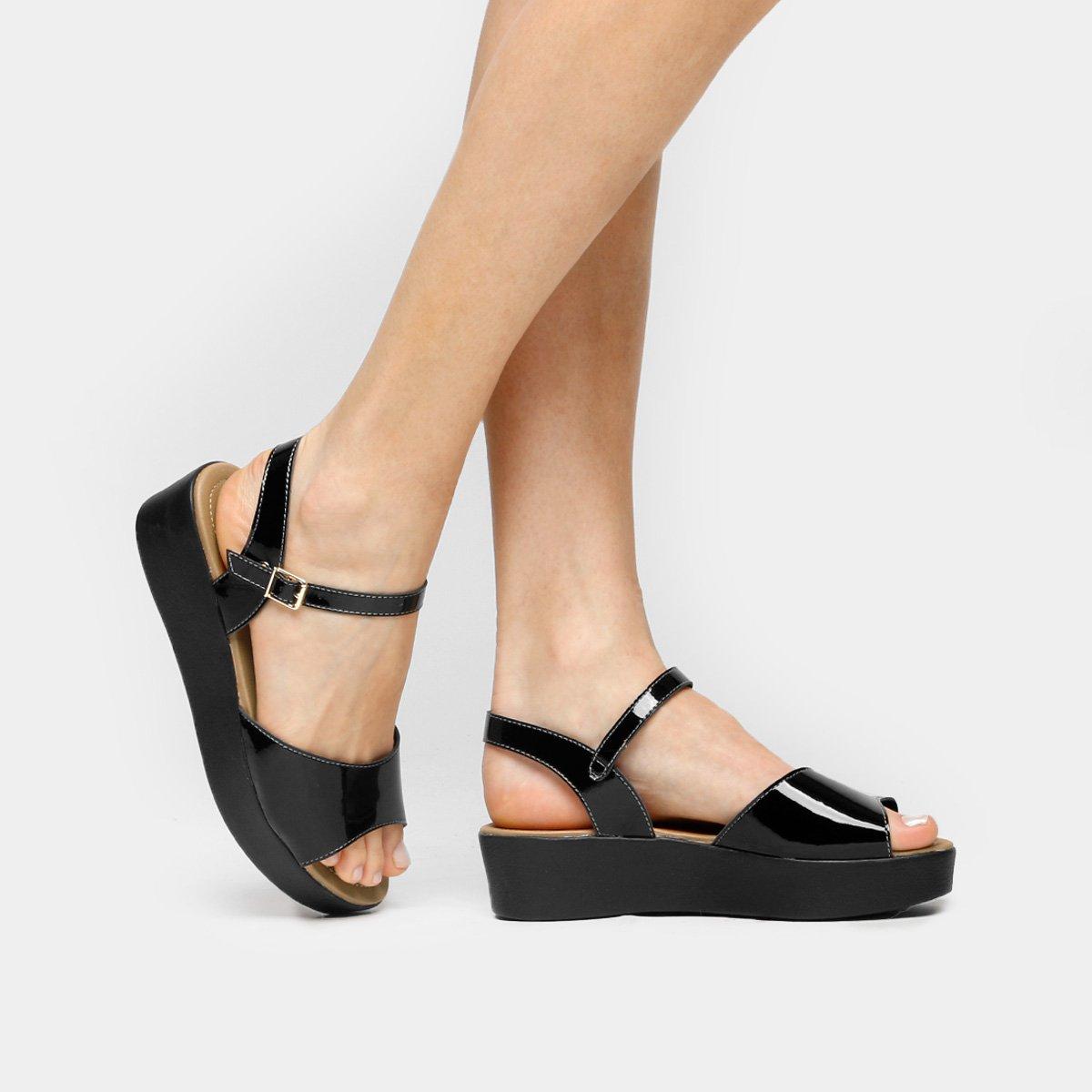 10d70635d Sandália Azaleia Flat Form Tira | Netshoes