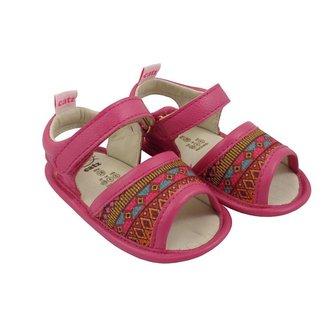Sandália Catz Calçados Couro Lolla Hippie Feminina