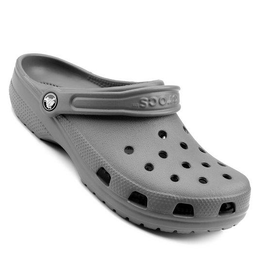 Sandália Crocs Classic - Cinza