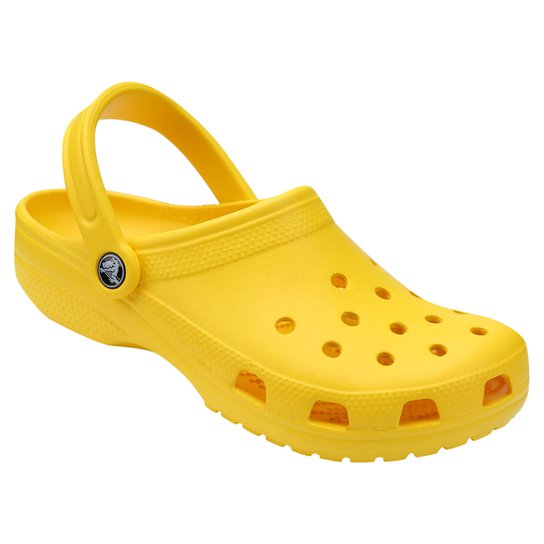 Sandália Crocs Classic - Amarelo Escuro