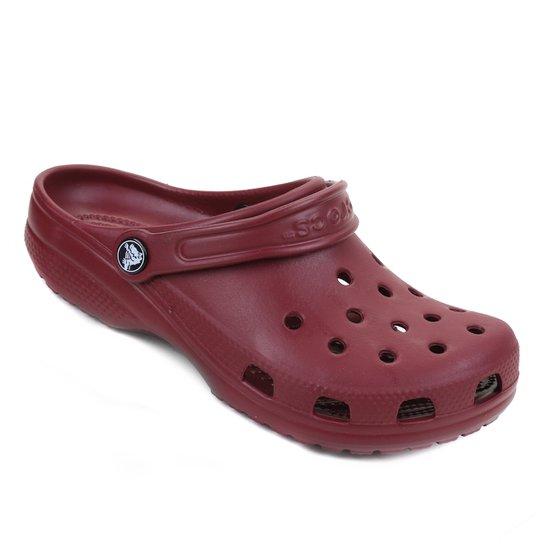 Sandália Crocs Classic - Vinho