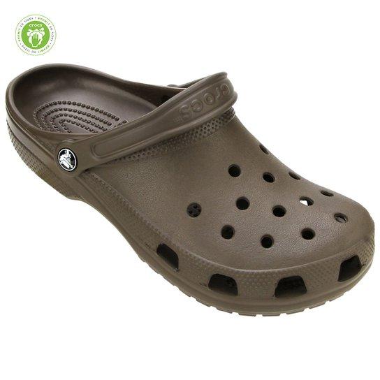 Sandália Crocs Classic - Marrom Escuro