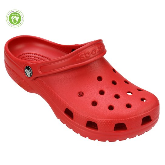 Sandália Crocs Classic - Vermelho Escuro
