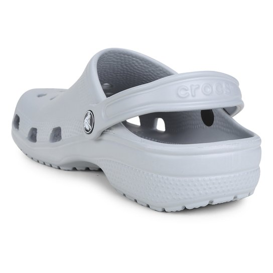 Sandália Crocs Classic - Cinza Claro