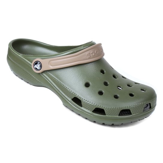 Sandália Crocs Classic - Kaki