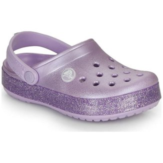 Sandália Crocs Glitter Clog K Infantil