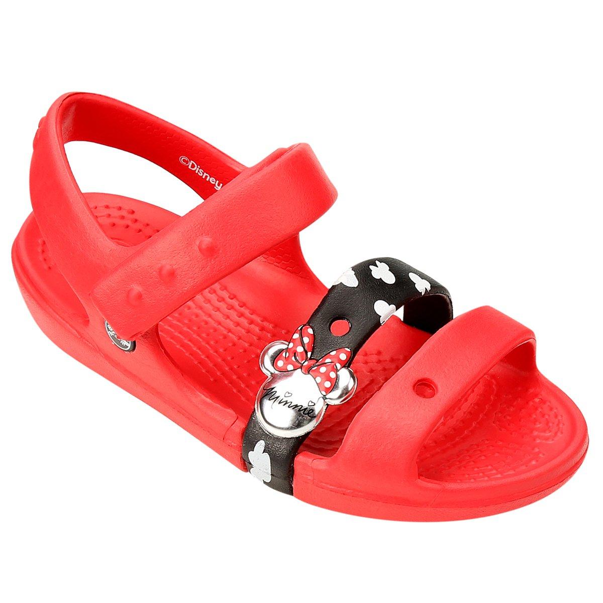 Crocs Keeley Sandália MouseNetshoes Sandal Infantil Minnie 5uT1clKJF3