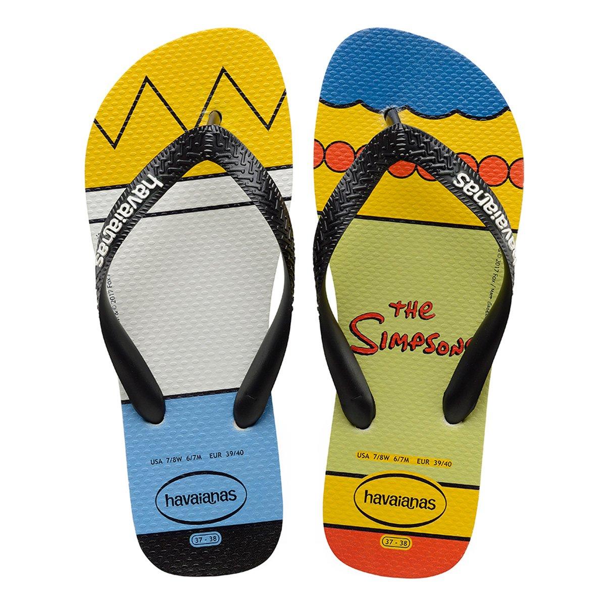 Sandália Havaianas Simpsons - Compre Agora  b72cf435b7c