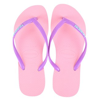 Sandália Havaianas Slim Logo Pop-Up Feminina