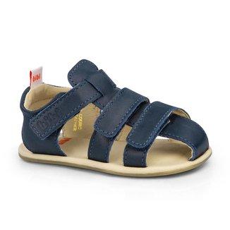 Sandália Infantil Bibi Afeto Masculina Azul - 1084043