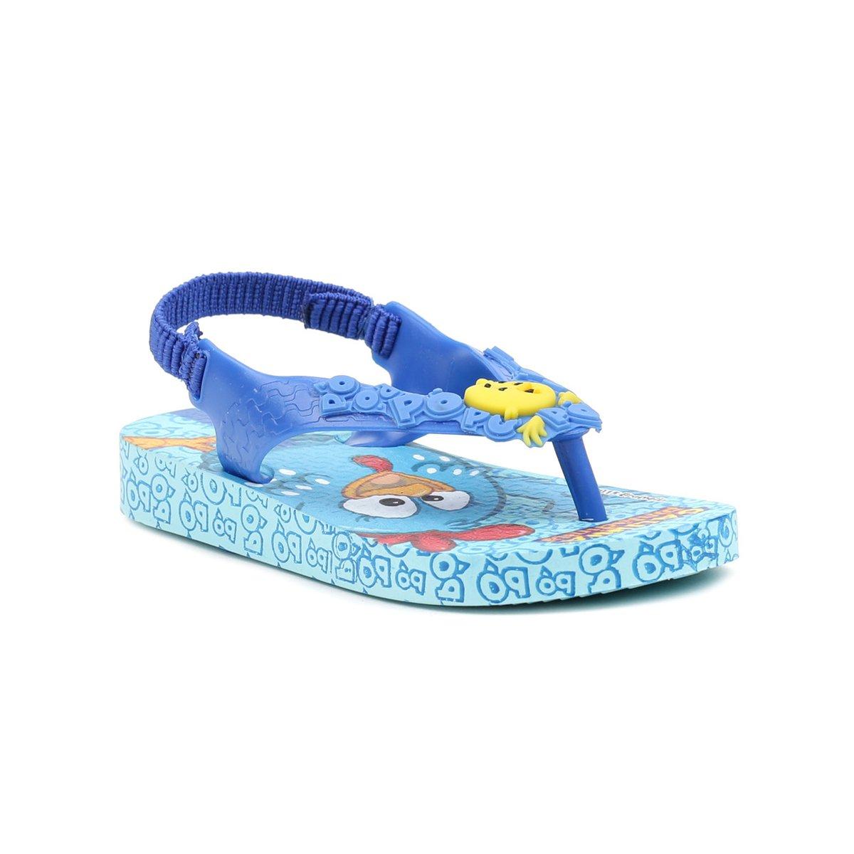 9fc9b56ee Sandália Infantil Galinha Pintadinha Azul - Compre Agora | Netshoes