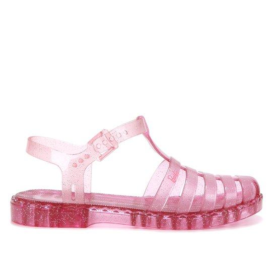 Sandália Infantil Grendene Kids Barbie Feminina - Rosa