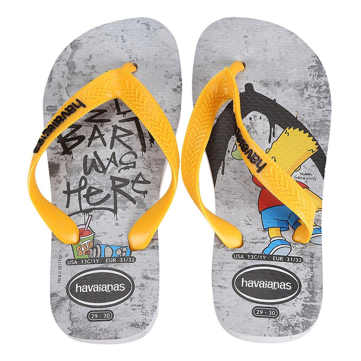 8c8598740d6a Sandália Infantil Havaianas Simpsons - Compre Agora