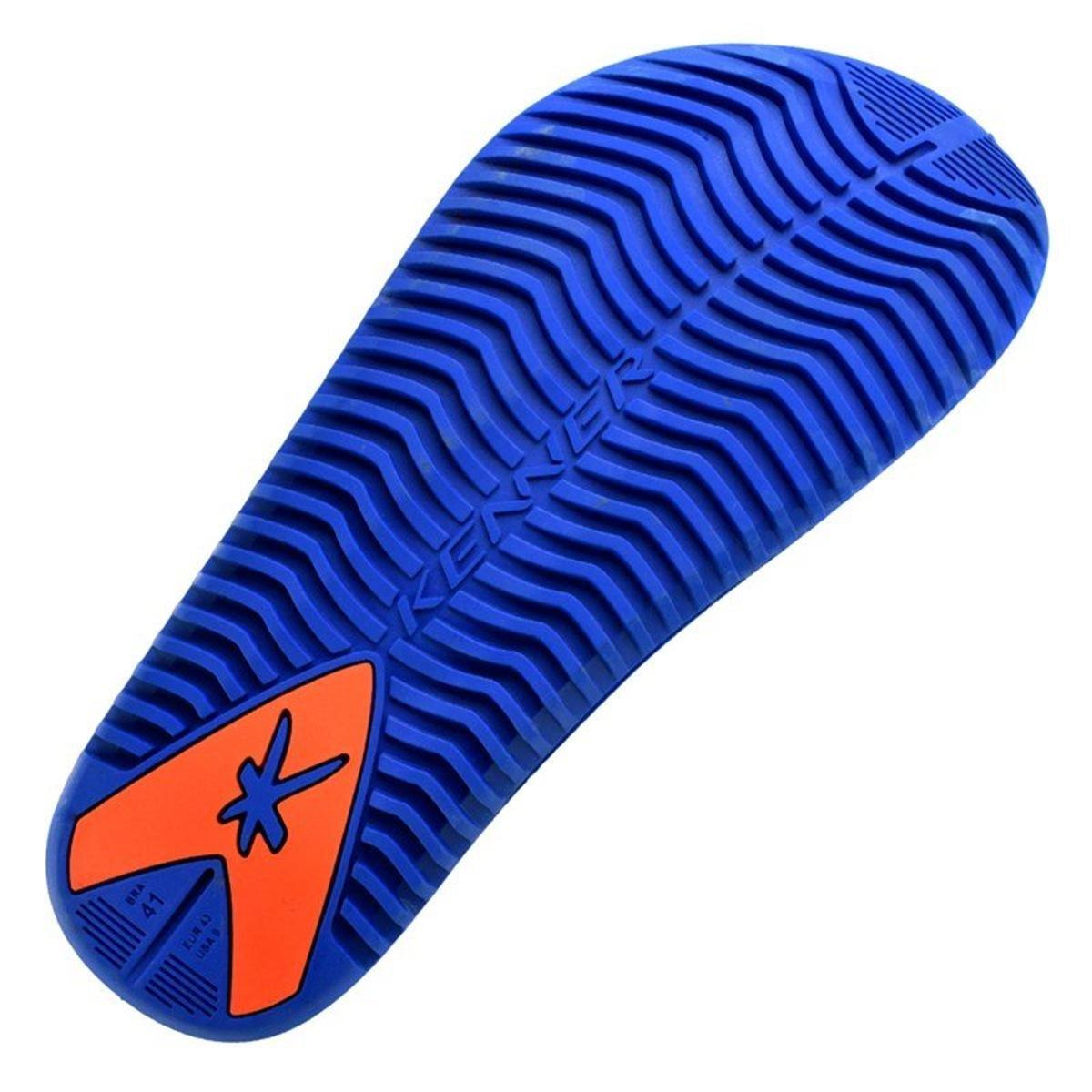 Sandália Kenner Kick-S Colors Masculina - Laranja e Azul - Compre ... 51d75fcb32a