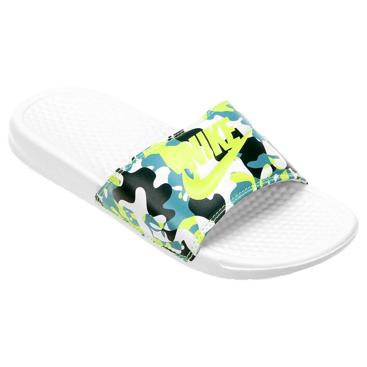 3a7182b355 Sandália Nike Benassi Jdi Print Feminina - Compre Agora