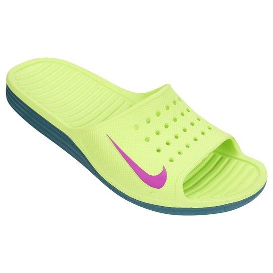 Discurso Personalmente transatlántico  Sandália Nike Solarsoft Slide   Netshoes