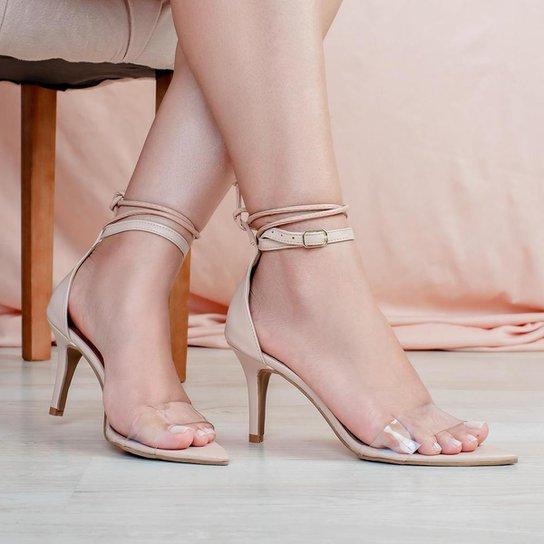 Sandália Rafaela Nude - Nude