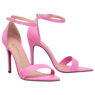 Sandalia Salto Alto Feminina Bico Fino Scarpin SAL-NS-AL-1