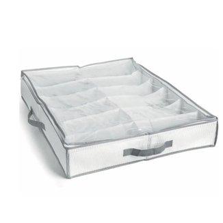 Sapateira SemiFexível Organizadora 12 Calçados Branca  My Closet
