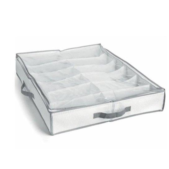 Sapateira SemiFexível Organizadora 12 Calçados Branca  My Closet - Branco