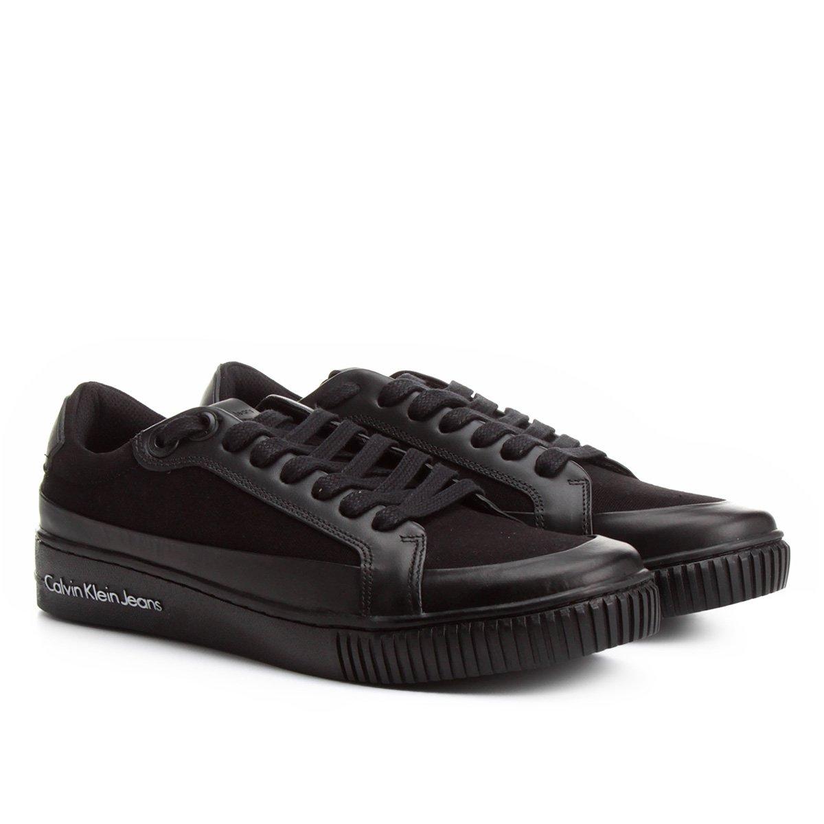Sapatênis Calvin Klein Recortes Masculino - Compre Agora   Netshoes e4a6d713bc
