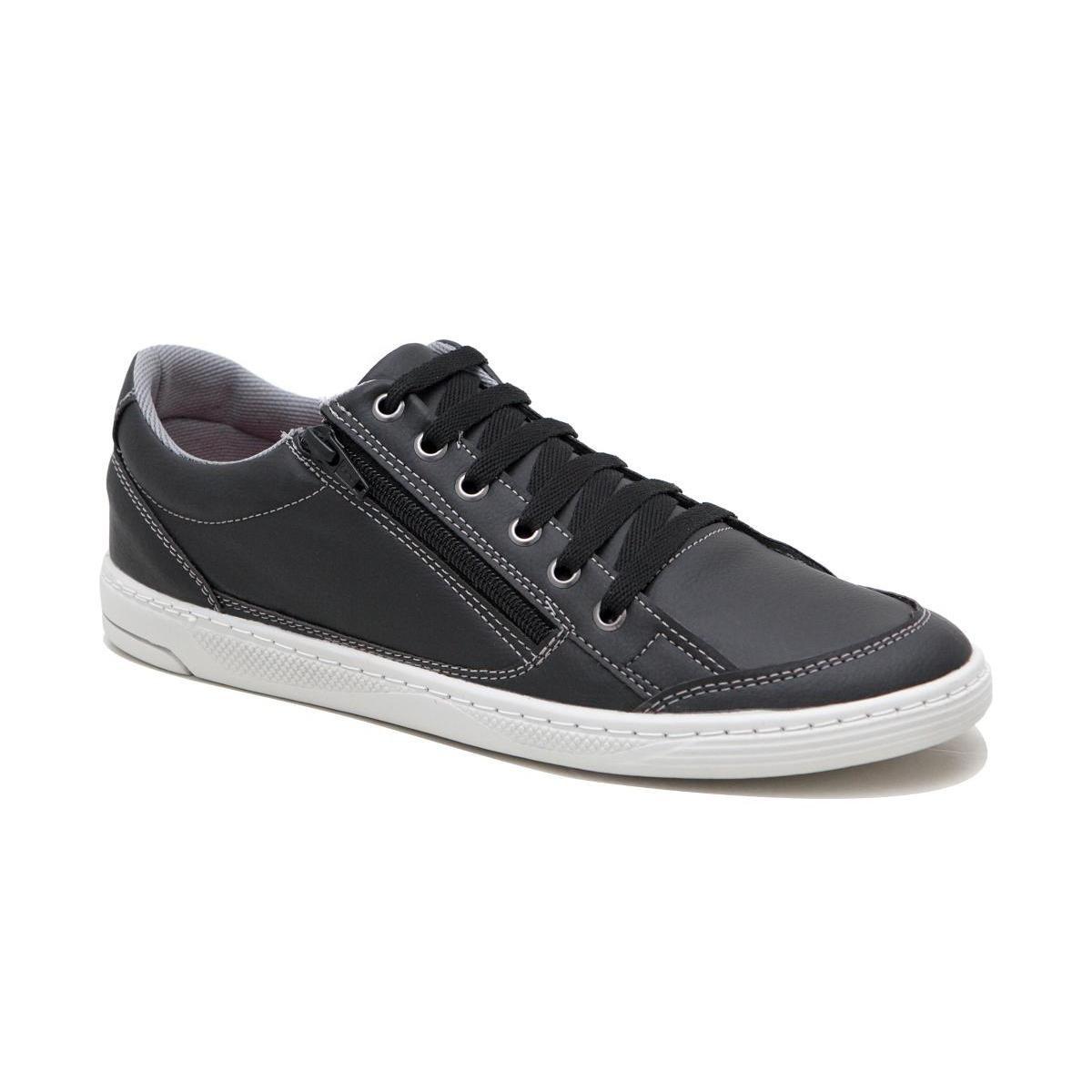 068e6ccd96 Sapatênis Casual Básico Zíper Doc Shoes Masculino - Compre Agora ...