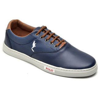Sapatenis Casual Top Franca Shoes Azul.