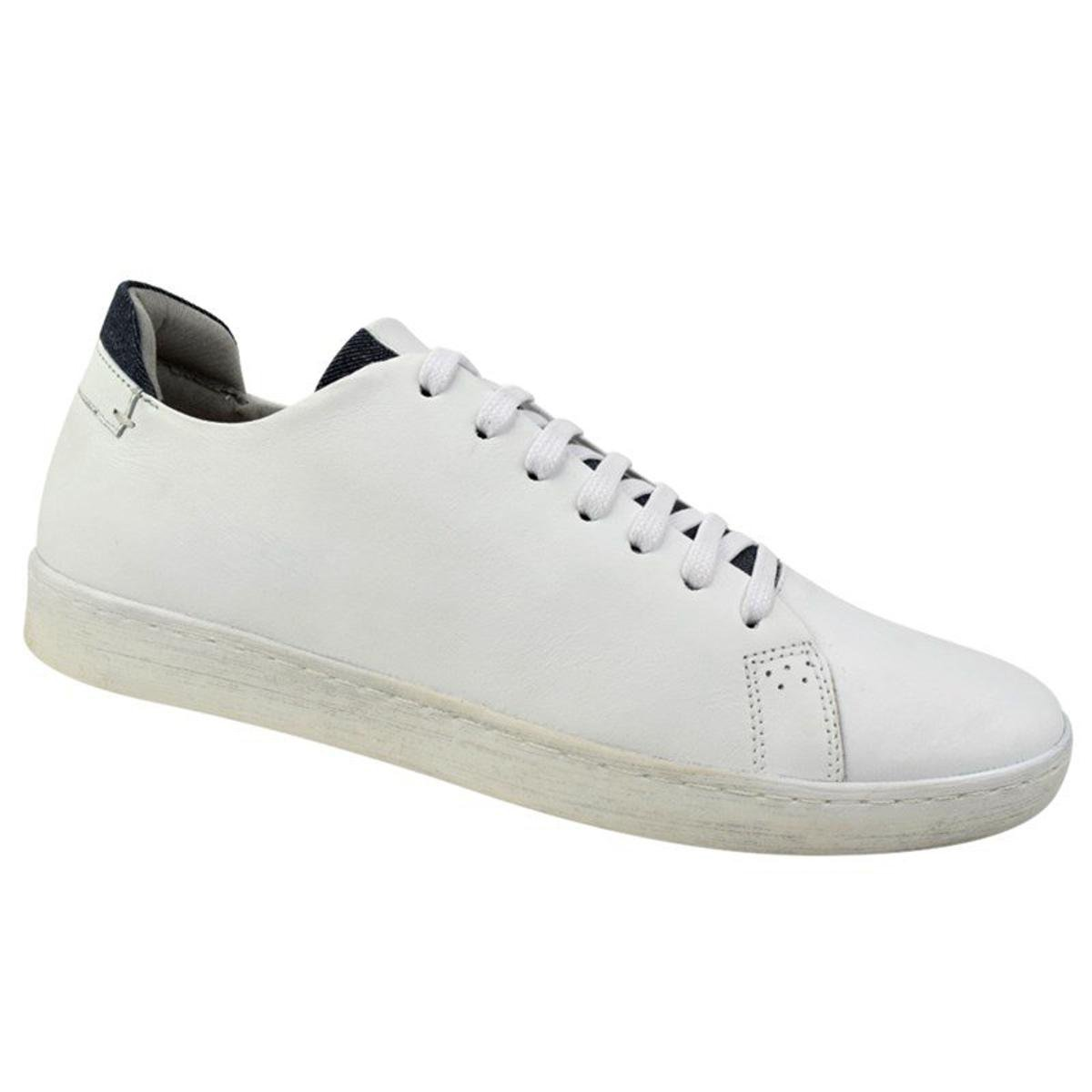 df7e474349f Sapatênis Constantino Masculino - Branco - Compre Agora