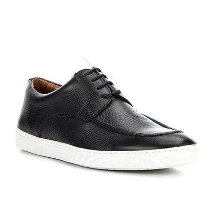 Sapatenis Couro Shoestock Classico Masculino