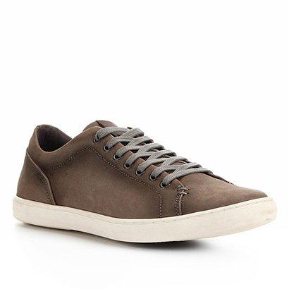 Sapatenis Couro Shoestock Street Masculino