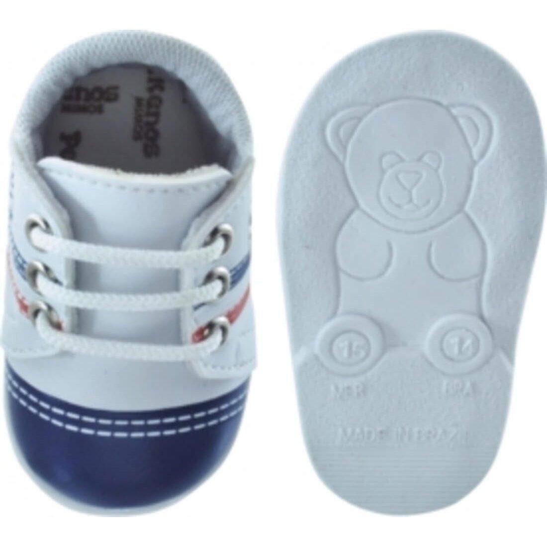Sapatênis Mimos Branco Infantil Pekenos 107 Infantil Sapatênis 66x4THwqR
