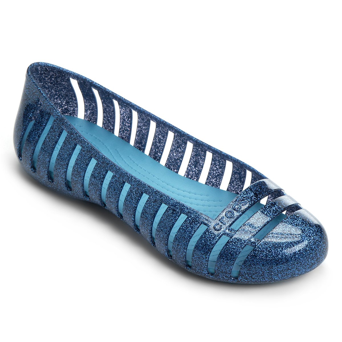 58aa27d1a Sapatilha Crocs Adrina 2 Glitter Flat GS Juvenil - Compre Agora ...