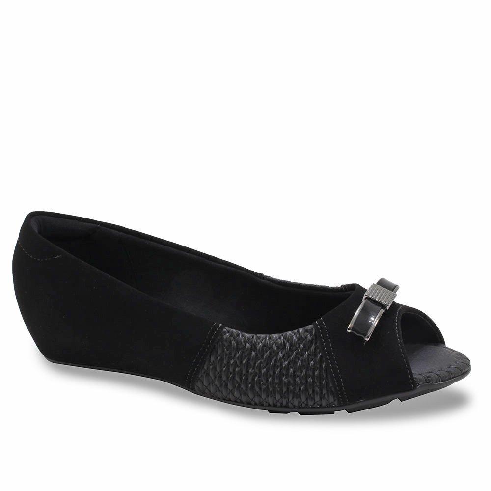 Sapatilha Feminino Peep Toe Modare - Compre Agora   Netshoes 6a222a91fd