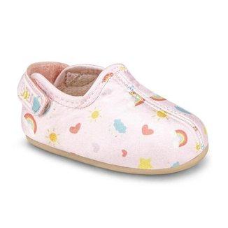 Sapatilha Infantil Bibi Afeto Joy Feminino Rosa 1124114