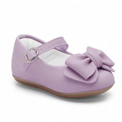 Sapatilha Infantil Klin Princesa Baby 137 Lavanda