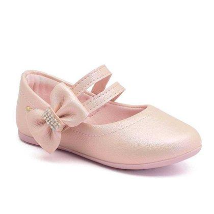 Sapatilha Infantil Klin Princesa Baby Rosa Perolizado