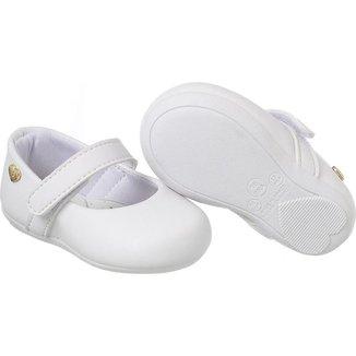 Sapatilha Infantil Menina Confortável Bebê Macia Leve