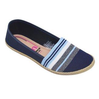 Sapatilha Moleca Multi Jeans Feminina