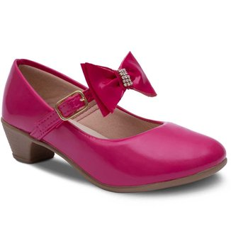 Sapatilha Salto Infantil Feminina Menina Sapato Criança 03.39