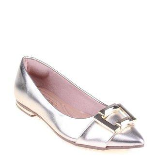 Sapatilha Shop Shop Shoes Verniz Feminina