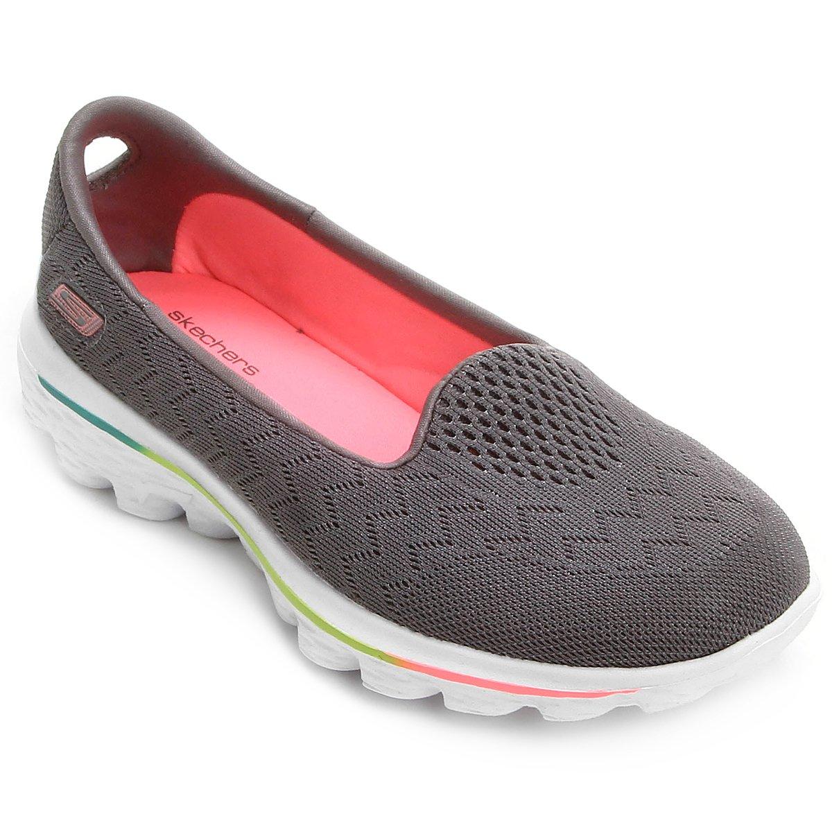 06edfe92736 Sapatilha Skechers Go Walk 2 Axis Infantil - Compre Agora