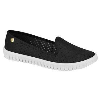 Sapato Alpargatas Feminino Casual Com Microperfuros Moleca 5728.100