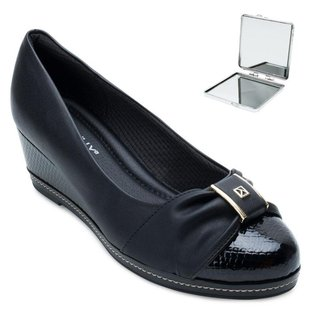 Sapato Anabela Piccadilly e Espelho PD21-3480