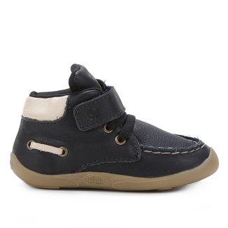 Sapato Bebê Cano Médio Ortopé Dna Masculino